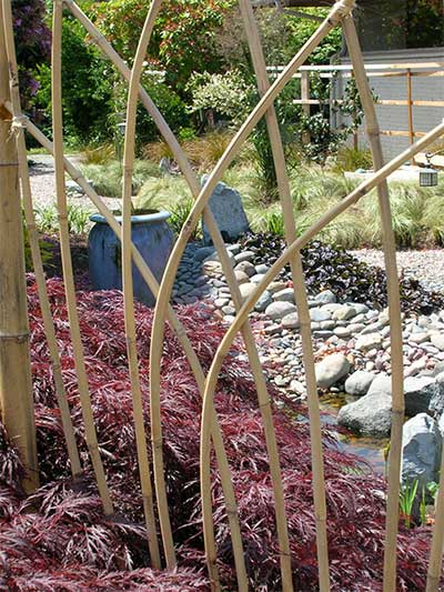 Image: Spirit Garden Design - Bamboo Lattice